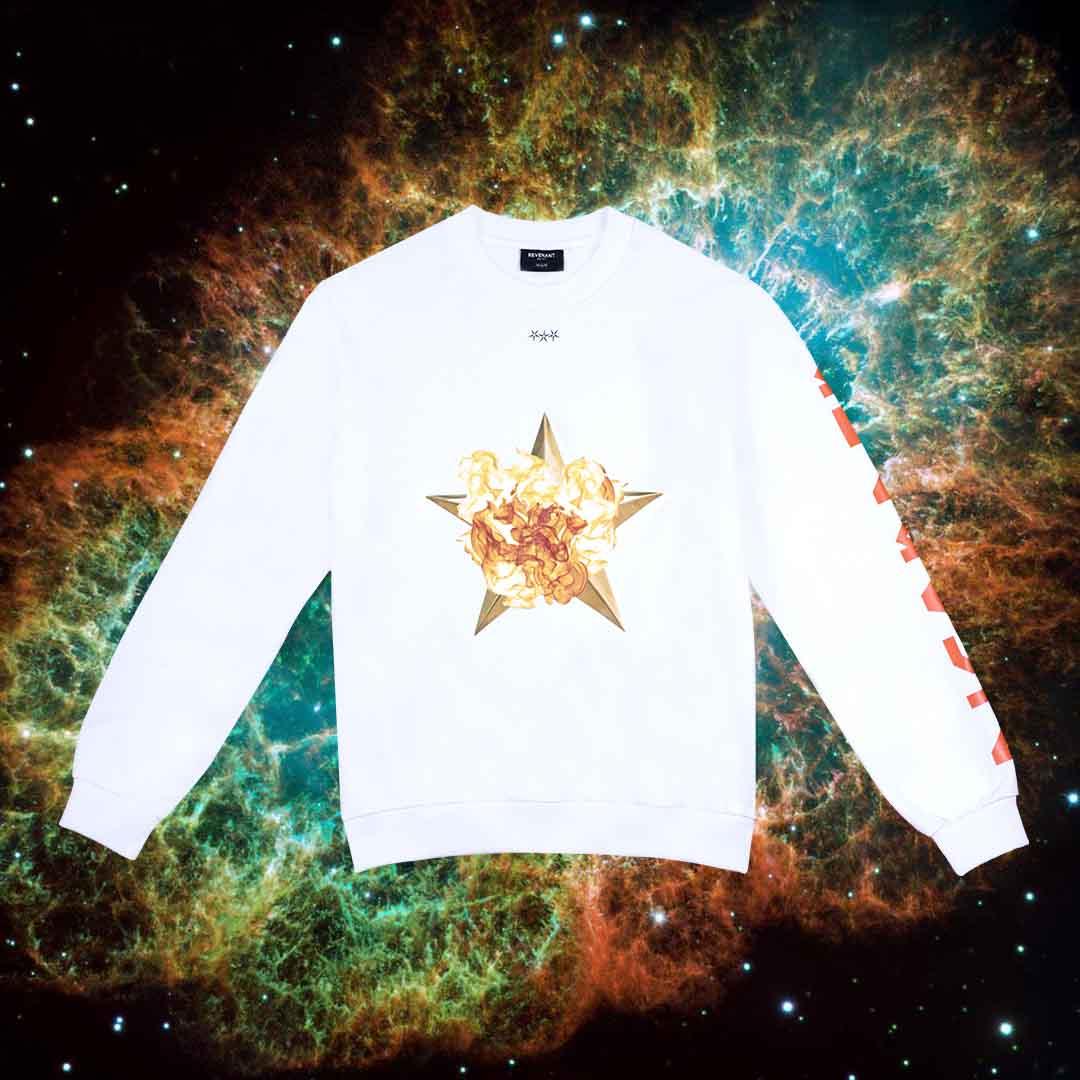 BURNIG STAR